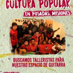 Aportá a la Cultura Popular misionera
