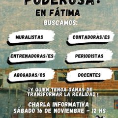 Subite a La Poderosa en Barrio Fátima