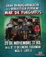 Inauguramos la Biblioteca Popular «Mar de Fueguitos»