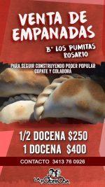 Venta de empanadas en Rosario