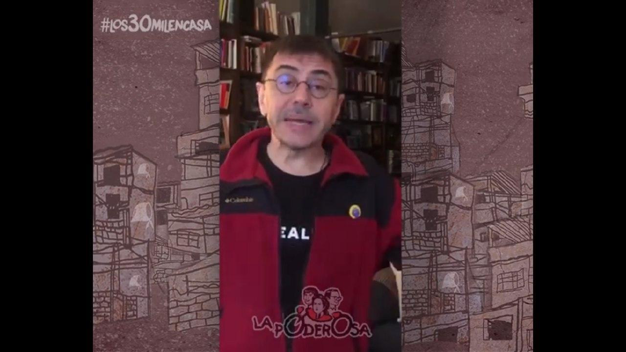Los 30 Mil en Casa: Juan Carlos Monedero