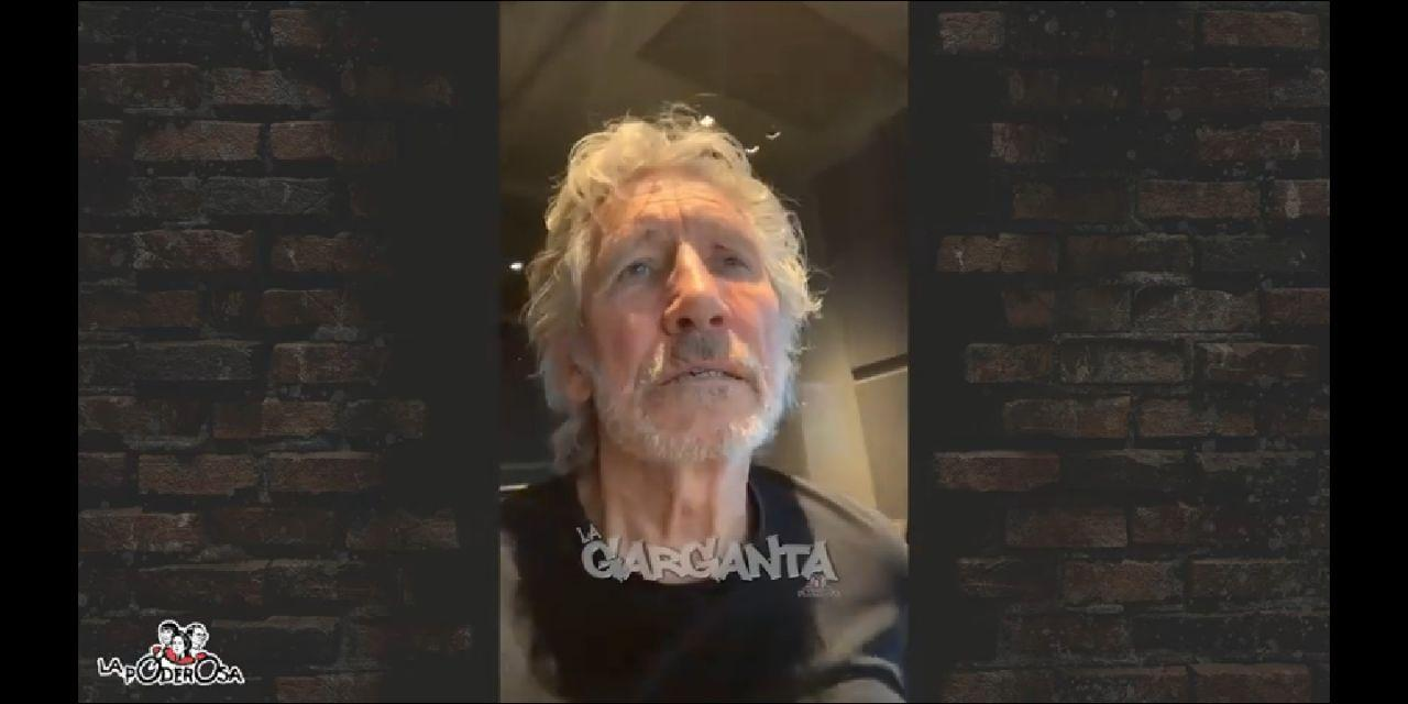 Roger Waters dice que nos quedemos en casa