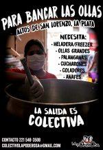 En La Plata necesitamos de vos: ¡manos a la olla!